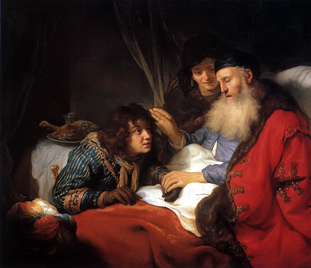 Isaac Blessing Jacob by Govert Flinck 1639