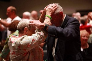 Apparently the Vulcan mind meld is part of the new ACC liturgy.