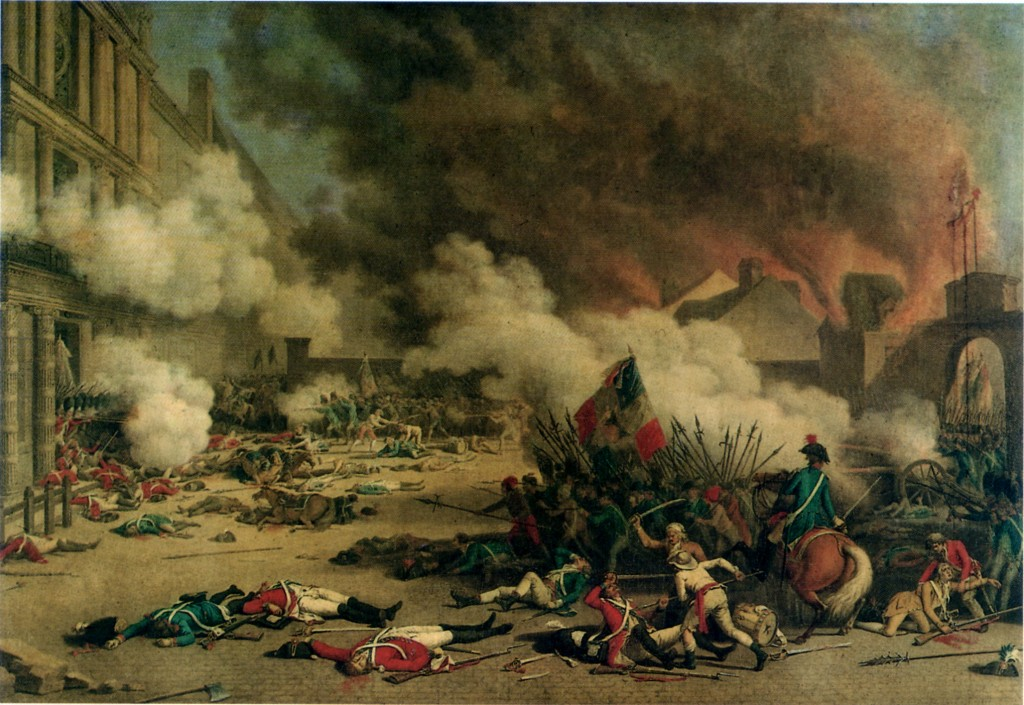 Attack on Tuileries