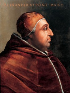 Pope Alexander VI already had four children with his mistress before he was elected pope.