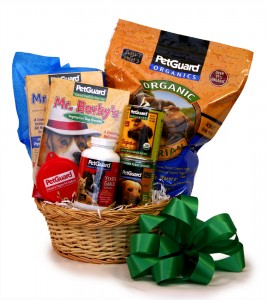 Vegetarian Dog Gift Basket $59.95