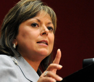 Gov. Susana Martinez is an Hispanic Republican