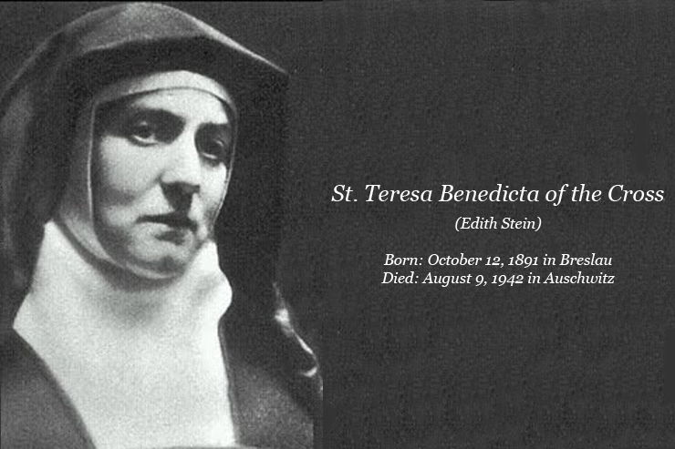 Catholic Quotes About Family: » St. Teresa Benedicta: Patron Of Culture Deacon Omar F. A